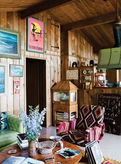 bohemian surf cottage