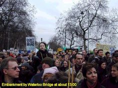 Two million people, altogether, marched in London February, Politics, London, History, News, City, World, People, Historia