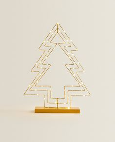 CHRISTMAS TREE LAMP - DECORATION - HOLIDAYS | Zara Home United States of America Zara Home Canada, Tree Lamp, Christmas Tree, Holidays, Decoration, United States, America, York, Home Decor