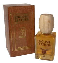 English Leather cologne reminds me of my Dad.  Wooden gift box that he always kept it in.