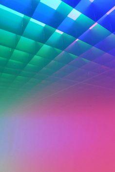 Olafur Eliasson. Light art installation