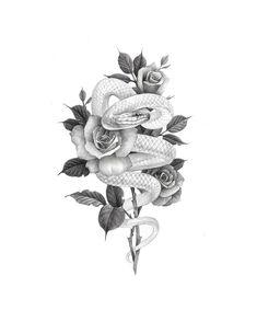 CeraVe Moisturizing Cream for Normal to Dry Skin Dope Tattoos, 12 Tattoos, Spine Tattoos, Unique Tattoos, Beautiful Tattoos, Body Art Tattoos, Sleeve Tattoos, Tatoo Rose, Snake And Flowers Tattoo