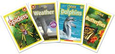 Traits Tuesday Linky!: Using National Geographic Kids Readers as Mentor Texts--Bold Beginnings IDEAS, ORGANIZATION