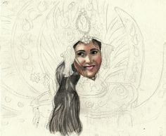 Lady from Indonesia (Malang Flower Carnival) WIP