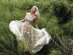 InStyle November 2015 Doukissa Nomikou in Konstantinos Melis by Laskos haute couture dress Prom Dresses, Formal Dresses, Wedding Dresses, Haute Couture Dresses, Ball Gowns, Instyle Magazine, November 2015, Image, Weddings