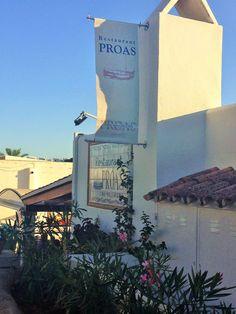 Proas restaurant overlooking the Marina of Cala d'Or, on the island of Mallorca | Spain.
