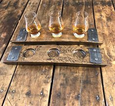 Whiskey Flight Tray With Glencairn Whiskey Glasses – Made From Reclaimed Whiskey Barrel Stave Whiskey Flight Tray With Glencairn Whiskey Glasses – Made From Reclaimed Whiskey Barrel Stave,Home decor styles Related posts:Damenlaufschuhe - How. Wine Barrel Crafts, Whiskey Barrel Furniture, Barrel Projects, Wood Projects, Whiskey Distillery, Whiskey Glasses, Bourbon Barrel, Glass Holders, Tasting Room