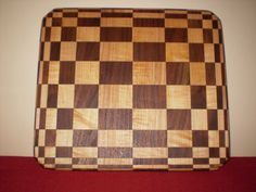 Stretch Illusion Wood Cutting Board by TrimbleWoodworking on Etsy, $75.00