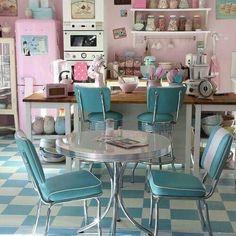 Vintage Rose Kitchen