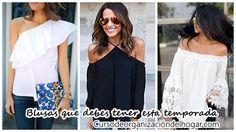 32 diseños de blusas que debes tener esta… http://cursodeorganizaciondelhogar.com/32-disenos-de-blusas-que-debes-tener-esta-temporada/
