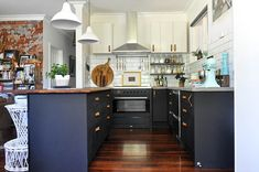 A 1960s Cottage in Western Australia Fit For Family and Fun | Design*Sponge Love the kitchen