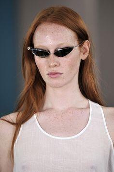 Acne, cat-eye sunglasses for Spring Summer 2012
