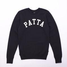 3eb41ff8ade32e Patta Basic Athletic Crewneck Sweatshirt - Classic Basic Athletic Crewneck  Sweatshirt from Patta.