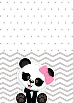 Cute Panda Wallpaper, Cute Disney Wallpaper, Wallpaper Iphone Cute, Panda Themed Party, Panda Party, Panda Wallpapers, Cute Wallpapers, Minnie Mouse Stickers, Panda Decorations