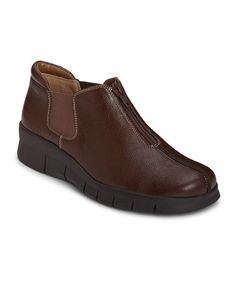 Loving this Brown Gladiator Bootie on #zulily! #zulilyfinds