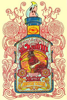 South by Southwest 2007 Poster by Michael Michael Motorcycle