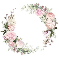 Фотография Flower Background Wallpaper, Flower Backgrounds, Wallpaper Backgrounds, Wallpapers, Decoupage Paper, Floral Border, Flower Frame, Watercolor Flowers, Wreath Watercolor