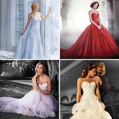 Elsa, a rainha de 'Frozen', é destaque da nova coleção de vestidos de noiva das princesas Disney | Pop! Pop! Pop!