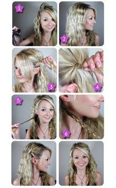 HAIR - Game of Thrones Daenerys Inspired Hair style | Beauty Tutorials