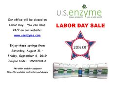 20% off all liquid mold & mycotoxin removal products.