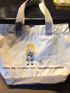 Are you a direct seller? Personalize this bag to look like you and add your website and contact info!