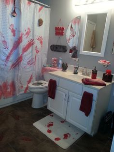 My bloody bathroom