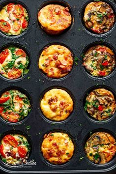 14 Keto Muffins You Won't Believe You Get to Eat Mini Frittata Muffi. 14 Keto Muffins You Won't Believe You Get to Eat Mini Frittata Muffins Recipe Mini Frittata, Frittata Muffins, Crustless Mini Quiche, Omlet Muffins, Mini Quiches, Healthy Breakfast Recipes, Brunch Recipes, Healthy Recipes, Mini Egg Muffins