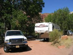 Watchman Campground, Zion NP (south Entrance). Photo: B050R, Loop B