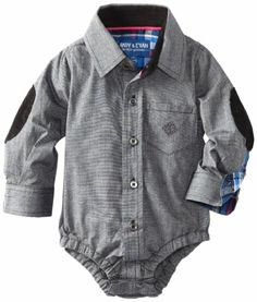 Amazon.com: Andy & Evan Baby-Boys Infant Any Given Chambray ShirtzieTM: Clothing