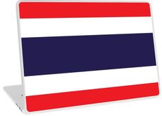 Flag Of Thailand. • Millions of unique designs by independent artists. Find your thing. Thailand Flag, Buy Flags, Block Wall, Framed Prints, Canvas Prints, Laptop Skin, Floor Pillows, Wall Tapestry, Decorative Throw Pillows
