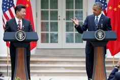 China and U.S. announce climate deal as Xi makes state visit to Washington