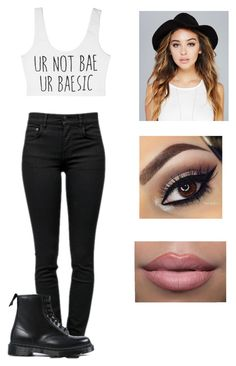 """""""❤️❤️❤️"""" by victoriamajors ❤ liked on Polyvore featuring Proenza Schouler, Dr. Martens and Wet Seal"""