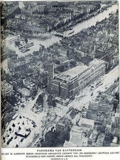 Rotterdam, 1930 Bijenkorf in aanbouw | Flickr - Photo Sharing!
