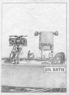 Oil bath Johnny Five