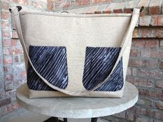 Large Shoulder Purse by AlSoBags on Etsy, $52.00
