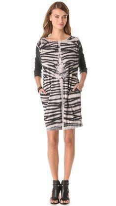 Raquel Allegra Long Sleeve Pullover Dress | SHOPBOP