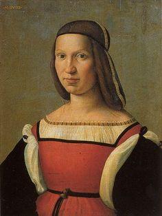 A Young Woman, 1509   attributed to Ridolfo Ghirlandaio, ca. 1483-1561  Palazzo Pitti, Florence  Palatina n. 224
