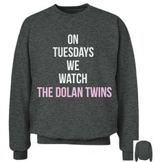 On Tuesdays We Watch The Dolan Twins Crewneck ($45) ❤ liked on Polyvore featuring tops, checkered top, dolan tops, crew neck top, crew-neck tops and crew top