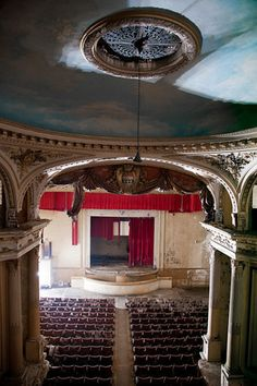 theatre in a chateau, France