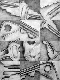 12 views of an object--drawing class Drawing Projects, Drawing Lessons, Art Lessons, School Lessons, Drawing Ideas, High School Art Projects, Art School, Classe D'art, 8th Grade Art