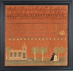 sampler from Stephen and Carol Huber by Sarah Brown c.1810