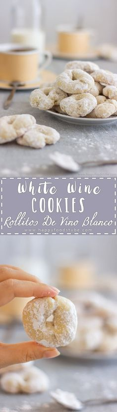 White Wine Cookies -