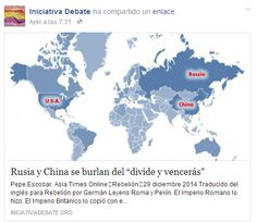 """Rusia y China se burlan del """"divide y vencerás"""""""