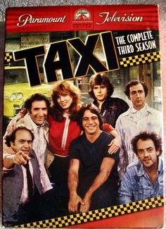 Taxi The Complete 3rd Season TV show Comedy 4 Discs DVD Region 1