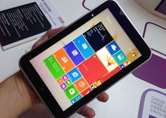 The Toshiba Encore Mini is powered by an Intel Atom Bay Trail processor; this windows tablet is available for only $120. The Encore Mini Windows Tablet...