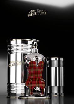 BOOK 2016 Etude et proposition de flacons Classique version «Collection Haute-couture» Rendu Blender Cycles CLASSIQUE UK Inspiré de la collection PUNK de Jean-Paul Gaultier …