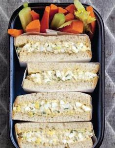 Egg Salad Supreme - Here's a simple, delicious sandwich. The dry mustard  paprika give it a wonderful surprising accent