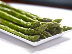 Grilled Asparagus - Citrus Herb Butter  #steakhouse #sides Food Gallery, Herb Butter, Grilled Asparagus, Green Beans, Seafood, Grilling, Treats, Entertaining, Dining