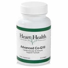 Heart Health™ Advanced Co-Q10 (Cardiovascular & Immune Support) CoQ10 is a potent antioxidant that is known to scavenge oxygen radicals in the mitochondria during oxidative phosphorylation. $50.00 @ http://www.shop.com/Heart+Health+trade+Advanced+Co+Q10+Cardiovascular+Immune+Support+-561800367-p+.xhtml