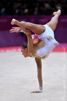 Evgenia #Kanaeva (RUS) by Tom Theobald.